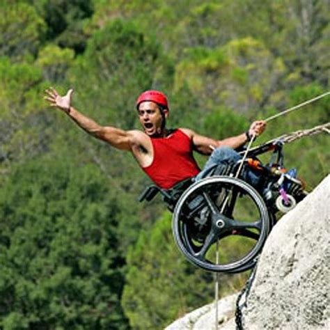 Disabled People Climbing Mountains