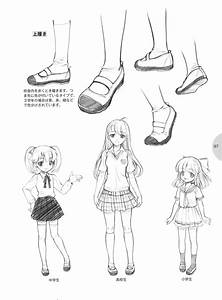 cute anime kawaii draw Feet how to draw usefull how to ...