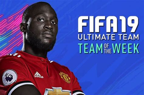 fifa  totw  fut confirmed ultimate team   week