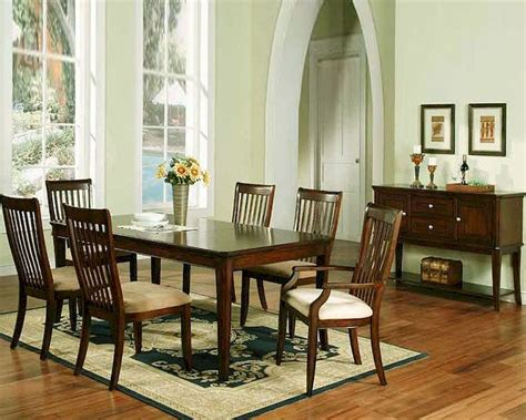 Cherry Dining Room Set by Winners Only Topaz Cherry Dining Room Set Wo Dtc24278s