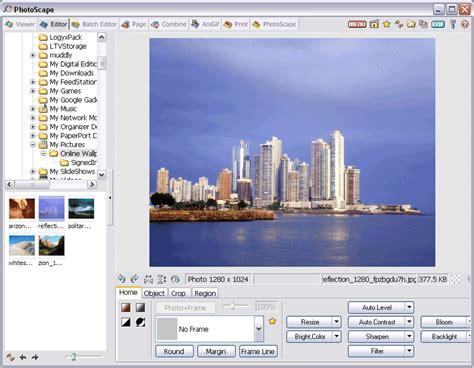 photoscape    freewarefilescom