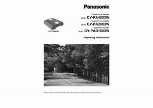Cy-pa4003w Manuals