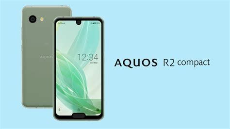 sharp debuts the aquos r2 compact flagship phone with dual