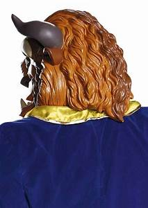 Deluxe Vinyl Beast Mask - Disney Beauty and the Beast ...
