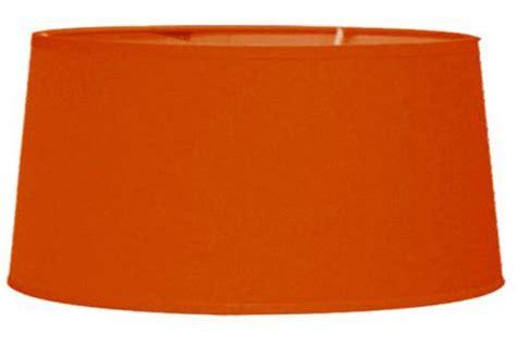 abat jour orange abat jour 35cm orange h19cm le 224 poser pas cher