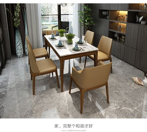 stainless steel dining room set home furniture minimalist modern marble dining table