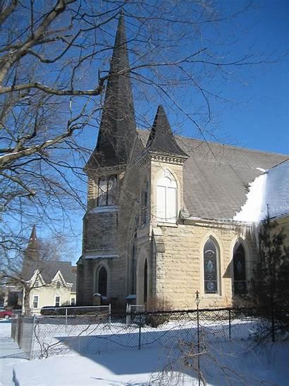 Sycamore Church Churches Historic District Illinois St