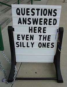 Yup, there sure are dumb questions. | Auntie Kate The ...