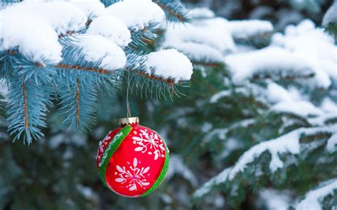 winter snow christmas ornaments christmas hd wallpapers
