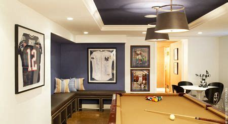 ny yankees man cave benjamin moore midnight navy