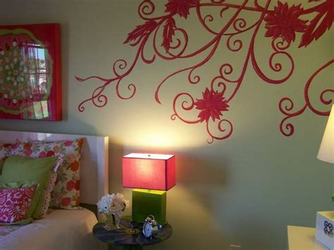 Asian Paints Wall Design There Are More Red Rose Wall