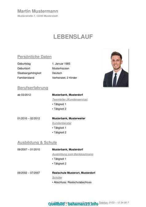Vorlage Tabellarischer Lebenslauf 2016 by Gut Tabellarischer Lebenslauf Vorlage Kostenlose Muster