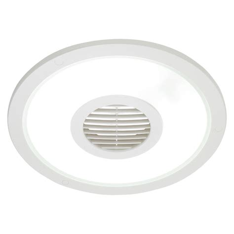 Heller White Round 250mm Ceiling Lightexhaust Fanair