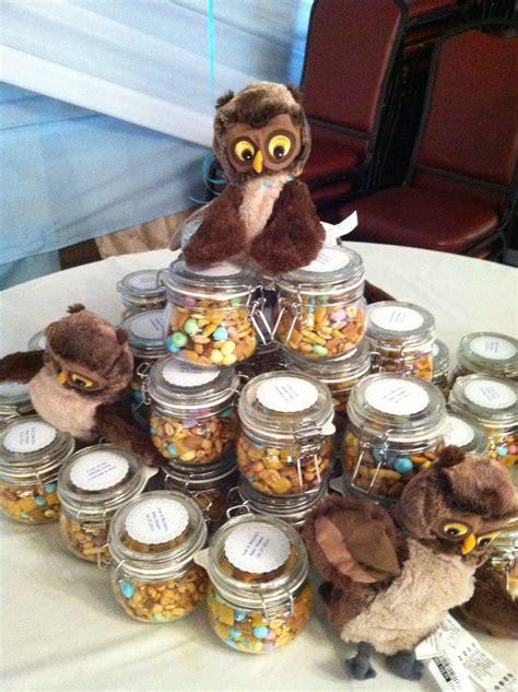 ideas  woodland favors woodland themed  owl themed  pinterest   jars