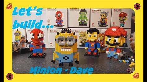 let s build minion dave despicable me loz blocks