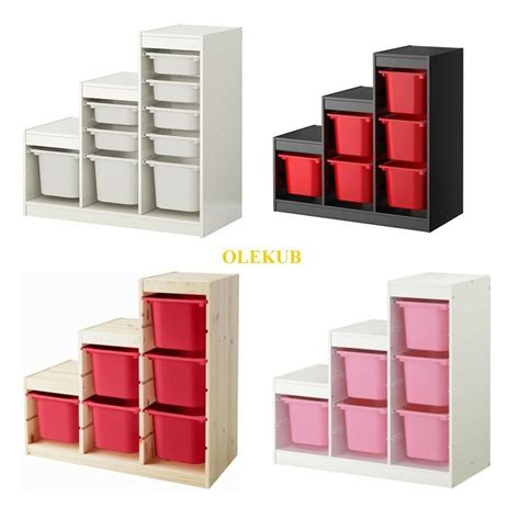 Kisten Ikea by Ikea Trofast Storage Combination Box Different Colors