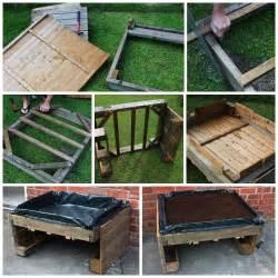 potager sureleve fabrique avec des palettes en bois With meubles pour petits espaces 16 plantations du jardin moderne jardin autres