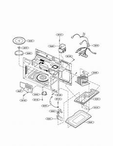 Lg Model Lmv1680st Microwave  Hood Combo Genuine Parts