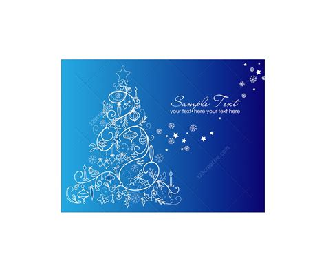 christmas tree vector collection buy vector pack full