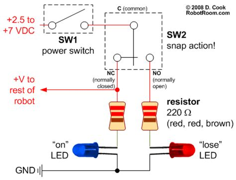 Target Power Switch For Fighting Robots Robot Room
