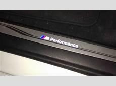 RG Sport BMW F15F16 X5 X6 LED Door Sill YouTube