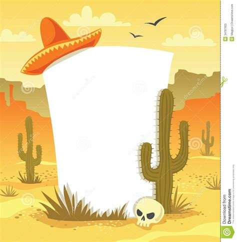 mexican background stock vector illustration  arizona