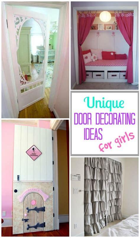 bedroom door decoration ideas  girls diy crafts