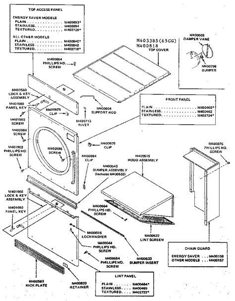 huebsch dryer wiring harness  wiring diagram