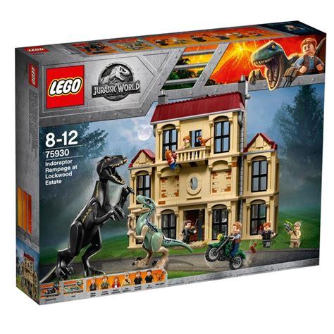 lego  jurassic world indoraptor rampage dinosaur toy