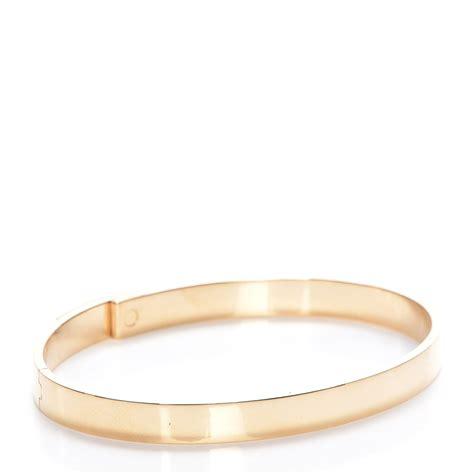 Hermes 18k Yellow Gold Diamond Kelly Pm Bangle Bracelet. Heart Bangle Bracelet. Pink Opal Bracelet. Gia Sapphire. Konstantino Bracelet. Miyuki Beads. Birth Stone Bracelet. Man Stud Earrings. Studded Bracelet
