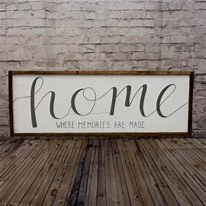 Buy, Home, Sign, Rustic, Home, Sign, Wood, Home, Sign, Mantle, Decor, Wall, Decor, Living, Room, Wood, Art, Wood