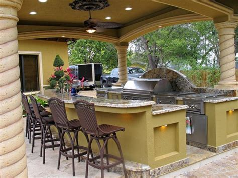 designs for outdoor kitchens covered outdoor kitchen designs kitchen decor design ideas 6677