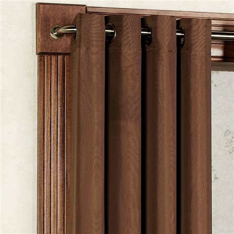 grommet curtain panels rhapsody thermavoile tm grommet curtain panels