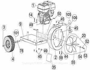 Billy Goat Qv550h Parts Diagram For Engine Assembly