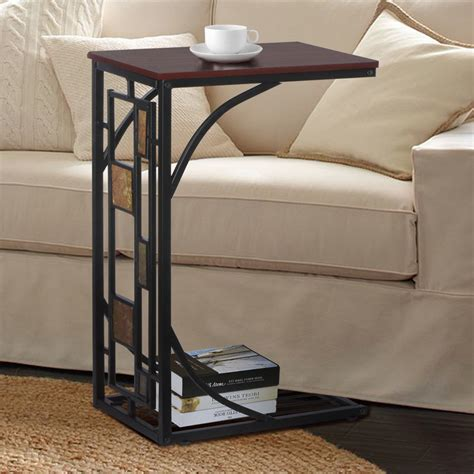 coffee tray side sofa table couch room console stand  tv lap snack drink ebay