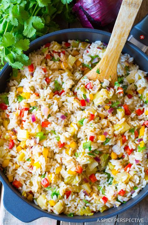 caribbean confetti rice a spicy perspective