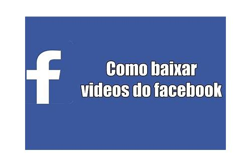 baixar video do facebook chrome pc