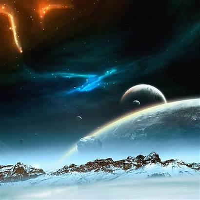 Wallpapers Ipad Cool Retina Space Mountain Iphone