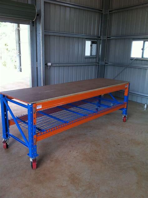 home garage work bench building  workbench