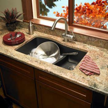 swanstone undermount granite kitchen sink swanstone quls 3322 170 granite large small bowl 8417