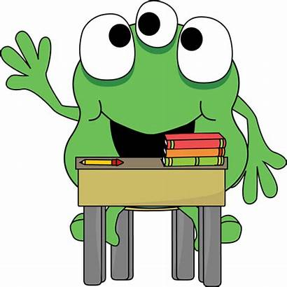 Clipart Monster Clip Desk Monsters Cartoon Mouth