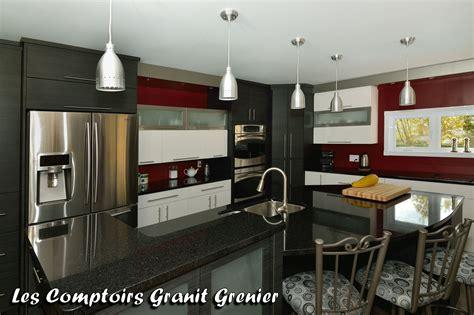 comptoir cuisine comptoirs de cuisine en granit on cuisine