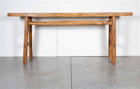 very narrow sofa table very narrow antique farm table at 1stdibs