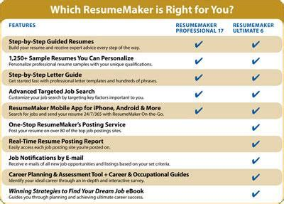 resumemaker ultimate 6 software
