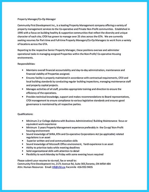 Assistant Property Manager Resume by Writing A Great Assistant Property Manager Resume