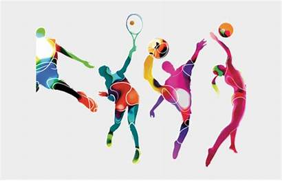 Sports Sport Clipart Activities Athlete Multi Clip