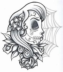Tete De Mort Mexicaine Dessin : dessins ~ Melissatoandfro.com Idées de Décoration