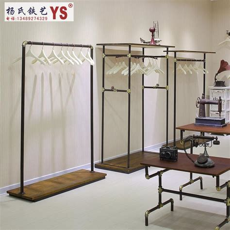 iron clothing rack clothing store display racks in the