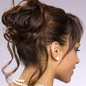 Chignon Cheveux Mi Long : chignon facile cheveux mi long ~ Melissatoandfro.com Idées de Décoration
