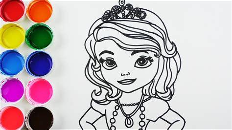 Cómo Dibujar Y Colorear Princesa De Arco Iris Dibujos